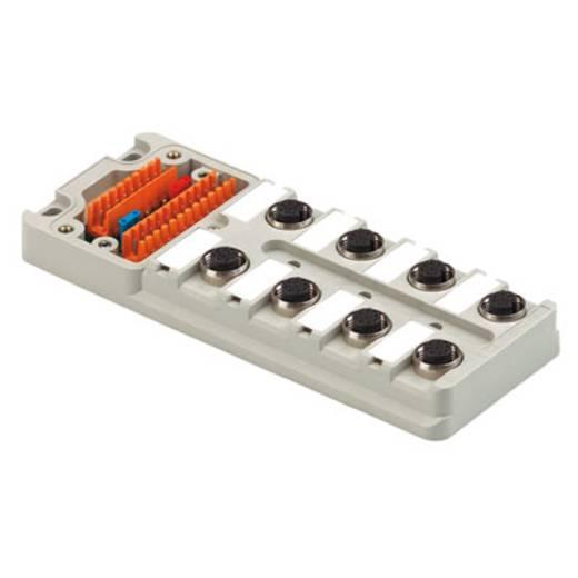 Passieve sensor-/actuatorverdeler SAI-8-M 5P M12 OL UT Wei