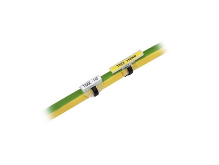 Weidmüller 1748820000 TMX 18 HF/HB Kabelmarkering Montagemethode: Schuiven Markeringsvlak: 10 x 317 mm Transparant Aantal markeringen: 500 500 stuk(s)