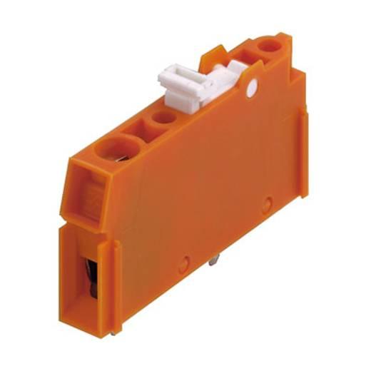 Klemschroefblok 4.00 mm² Aantal polen 1 LPTR 5.08/01/90 4.5SN OR BX Weidmüller Oranje 100 stuks