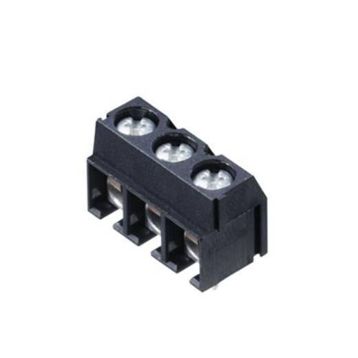 Klemschroefblok 2.50 mm² Aantal polen 2 PM 5.08/02/90 3.5SN BK BX Weidmüller Zwart 500 stuks