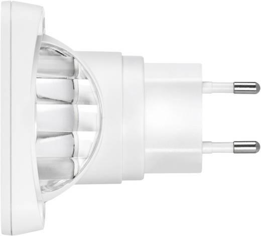 LED Nachtlamp Vierkant RGB Sygonix-wit, mat Sygonix Lucca 23620S
