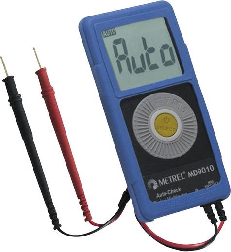 Metrel MD 9010 Multimeter Digitaal Kalibratie: Zonder certificaat CAT II 600 V Weergave (counts): 6000