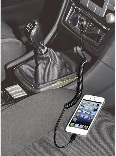 iPad/iPhone/iPod oplader Hama 102090 (Auto, Vrachtwagenlader) Uitgangsstroom (max.) 1000 mA 1 x Apple dock-stekker Ligh