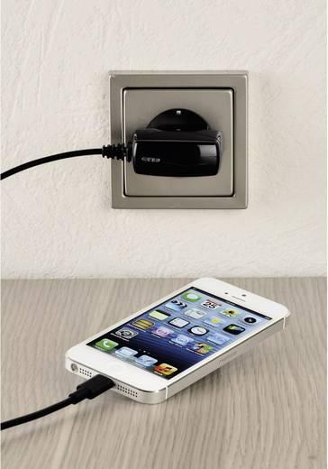 Hama 102091 iPad/iPhone/iPod oplader (Thuislader) Uitgangsstroom (max.) 1000 mA 1 x Apple dock-stekker Lightning