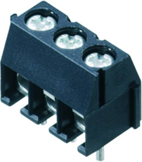 Klemschroefblok 1.50 mm² Aantal polen 12 PS 3.50/12/90 3.5SN BK BX Weidmüller Zwart 50 stuks