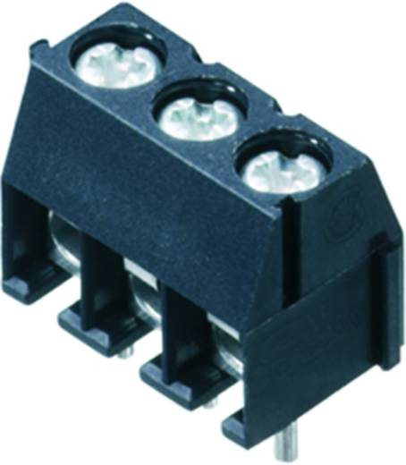 Klemschroefblok 1.50 mm² Aantal polen 3 PS 3.50/03/90 3.5SN GY BX Weidmüller Grijs 100 stuks
