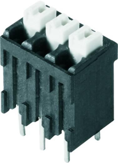 Veerkachtklemblok 1.50 mm² Aantal polen 17 LSF-SMT 3.81/17/180 1.5SN BK TU Weidmüller Zwart 8 stuks