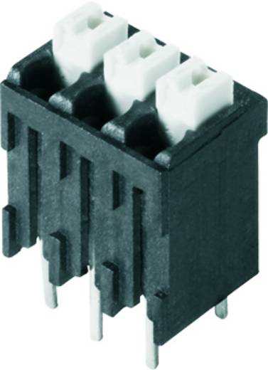 Veerkachtklemblok 1.50 mm² Aantal polen 21 LSF-SMT 3.50/21/180 1.5SN BK TU Weidmüller Zwart 7 stuks