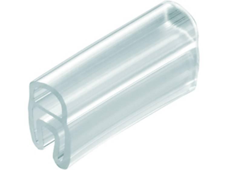 Kabelmarkering Montagemethode: Schuiven Markeringsvlak: 30 x 5 mm Geschikt voor serie Enkele aders Transparant Weidmüller TM 201/30 V0 1874850000 Aantal