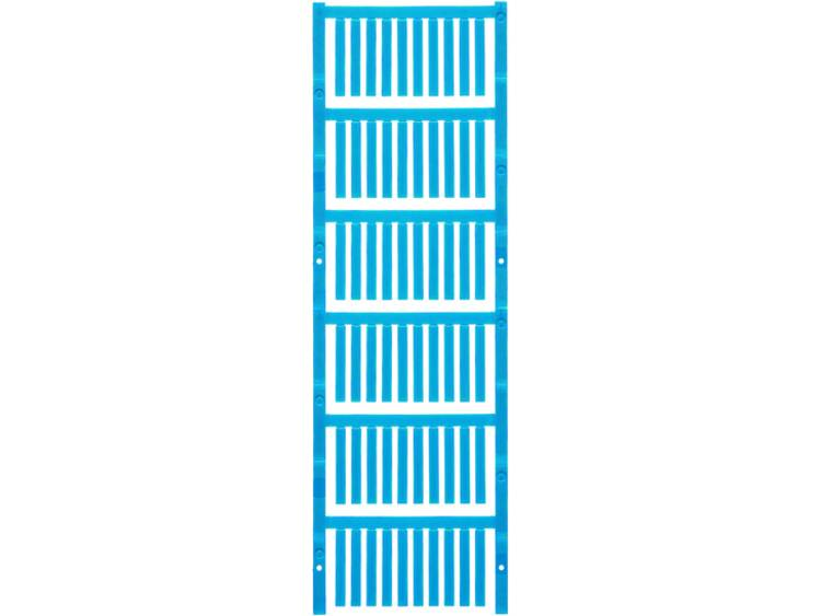 Kabelmarkering Montagemethode: Schuiven Markeringsvlak: 30 x 4 mm Geschikt voor serie Weidmüller TM-H hulzen Atol-blauw Weidmüller TM-I 30 MC NEUTRAL BL