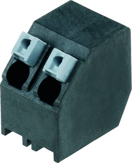 Veerkachtklemblok 1.50 mm² Aantal polen 2 LSF-SMT 5.00/02/135 1.5SN BK TU Weidmüller Zwart 60 stuks