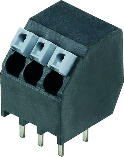 Veerkachtklemblok 1.50 mm² Aantal polen 10 LSF-SMT 3.50/10/135 1.5SN BK TU Weidmüller Zwart 15 stuks
