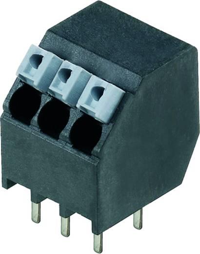 Veerkachtklemblok 1.50 mm² Aantal polen 20 LSF-SMT 3.50/20/135 1.5SN BK TU Weidmüller Zwart 7 stuks