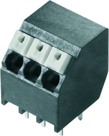 Veerkachtklemblok 1.50 mm² Aantal polen 3 LSF-SMT 3.81/03/135 1.5SN BK TU Weidmüller Zwart 46 stuks