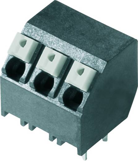 Veerkachtklemblok 1.50 mm² Aantal polen 2 LSF-SMT 5.08/02/135 1.5SN BK RL Weidmüller Zwart 190 stuks
