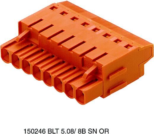Connectoren voor printplaten BLT 5.08/08/180LH SN OR BX Weidmüller Inhoud: 36 stuks
