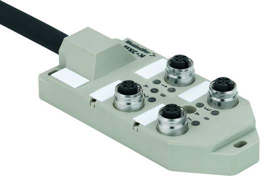 Passieve sensor/actorbox Verdeler met M12 bus SAI-4-M 5P M12 ECO UT