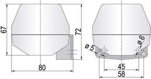 Hoorn Auer Signalgeräte KDH Continu geluid 230 V/AC 92 dB