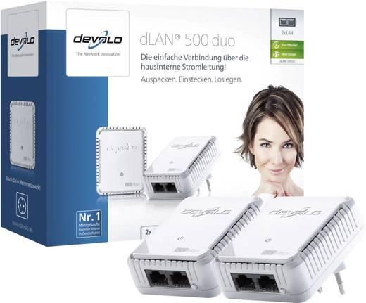 Devolo dLAN 500 duo Powerline starterkit 500 Mbit/s