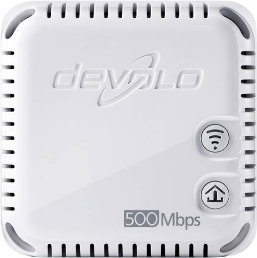 Devolo dLAN 500 WiFi Powerline WiFi enkele adapter 500 Mbit/s
