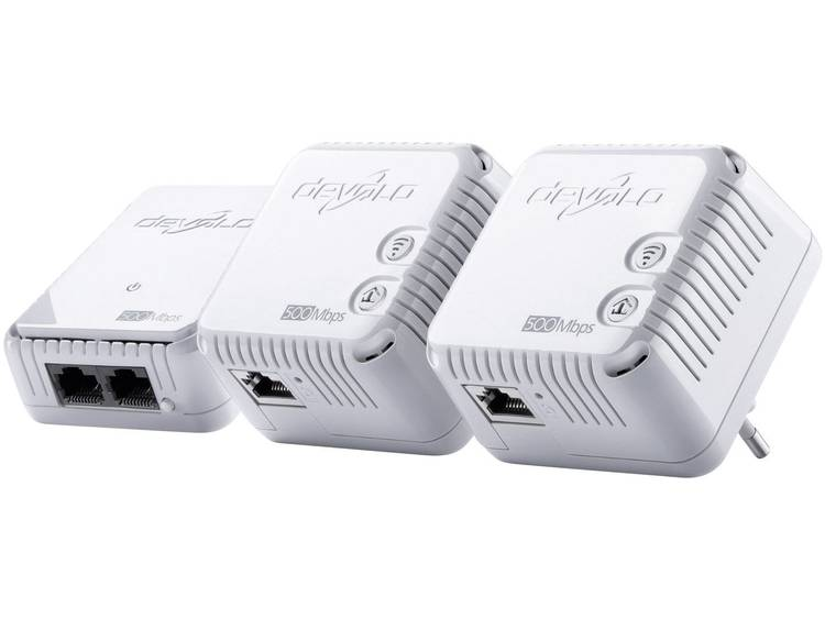 Devolo dLAN 500 WiFi Powerline WiFi netwerkkit 500 Mbit/s