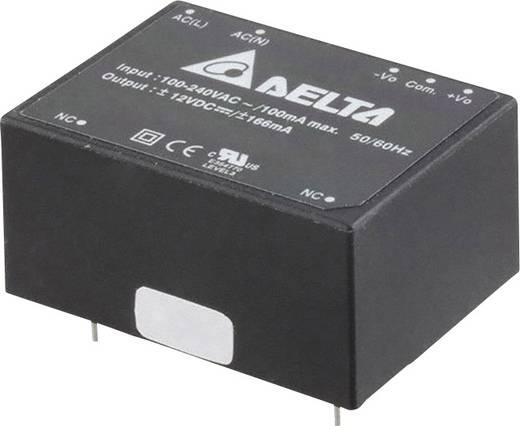 Delta Electronics AA04D1212A AC/DC printnetvoeding 12 V 166 mA 4 W
