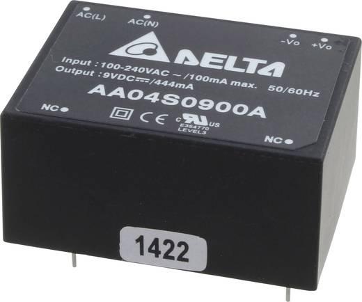 Delta Electronics AA04S0900A AC/DC printnetvoeding 9 V 444 mA 4 W