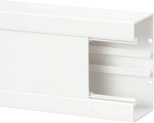 Kabelgoot (b x h x d) 2000 x 130 x 65 mm Heidemann 09823 1 stuks Zuiver wit