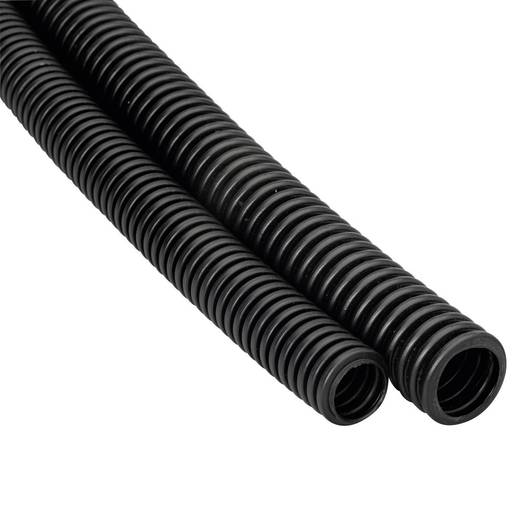 Heidemann 13467 Flexibele buis EN20 25 m Zwart 1 stuks