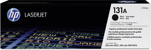 HP Tonercassette 131A CF210A Origineel Zwart 1600 bladzijden