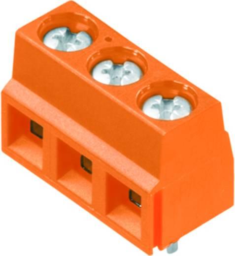 Klemschroefblok 1.50 mm² Aantal polen 3 LS 5.08/03/90 3.5SN OR BX Weidmüller Oranje 100 stuks