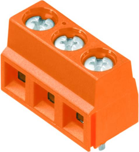 Klemschroefblok 1.50 mm² Aantal polen 4 LS 5.08/04/90 3.5SN OR BX Weidmüller Oranje 100 stuks