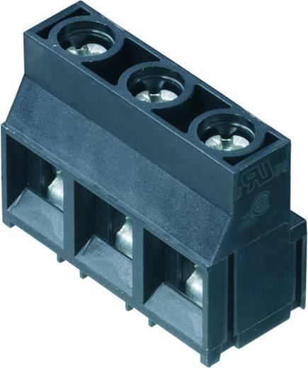 Klemschroefblok 4.00 mm² Aantal polen 3 LL 9.52/03/90 5.0SN GY BX Weidmüller Grijs 100 stuks