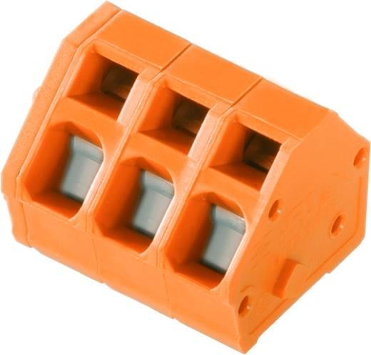 Veerkachtklemblok 2.50 mm² Aantal polen 4 LMZF 5/4/135 3.5OR Weidmüller Oranje 100 stuks