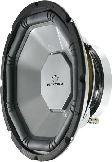 Renkforce Auto-subwoofer chassis 300 mm 500 W 370335 4 Ω