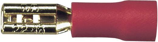 Sinuslive Car-HiFi platte stekker Set van 10 1.5 mm² 2.8 mm Verguld