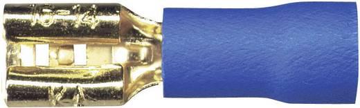 Sinuslive Car-HiFi platte stekker Set van 10 2.5 mm² 4.8 mm Verguld