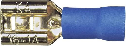 Sinuslive Car-HiFi platte stekker Set van 10 2.5 mm² 6.3 mm Verguld