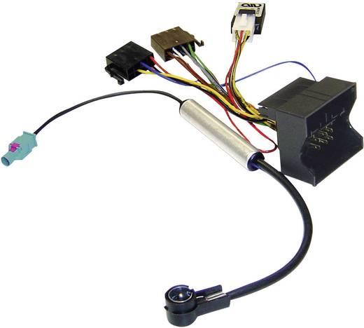 ISO-radioadapterkabel actief AIV Geschikt voor (automerken): Audi, Seat, Skoda, Volkswagen