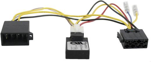 ISO-radioadapterkabel actief AIV Geschikt voor (automerken): Mercedes Benz 41C884