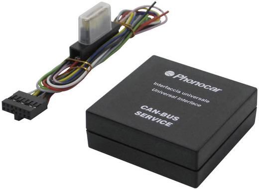 ISO-radioadapterkabel actief Phonocar Geschikt voor (automerken): Universal 4/050