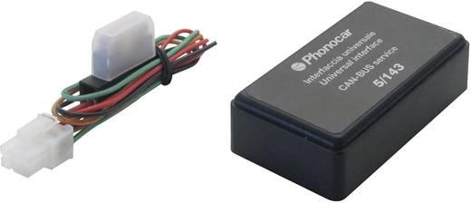 ISO-radioadapterkabel actief Phonocar Geschikt voor (automerken): Universal 5/143