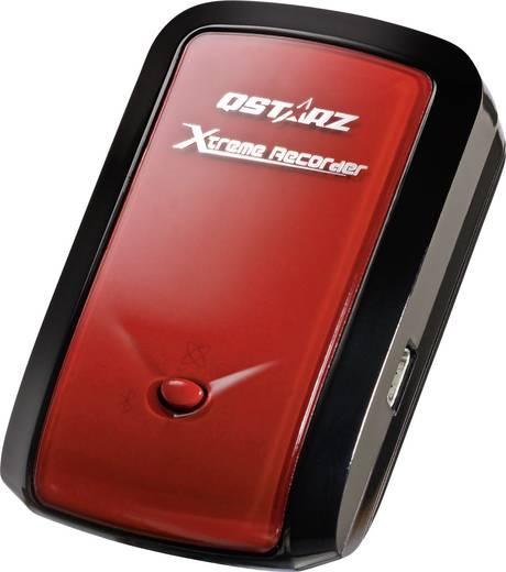 Qstarz BT-Q1000ex 10Hz GPS logger Rood/zwart