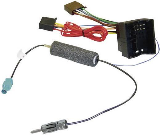 ISO-radioadapterkabel actief AIV Geschikt voor (automerken): Audi, Opel, Seat, Skoda, Volkswagen