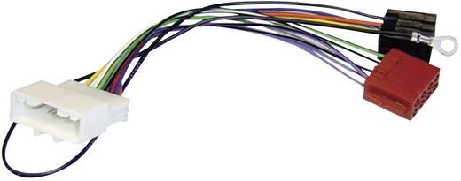 ISO-radioadapterkabel actief AIV Geschikt voor (automerken): Nissan, Opel, Renault