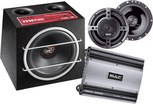 Mac Audio Xtreme 4000 Car-HiFi-set
