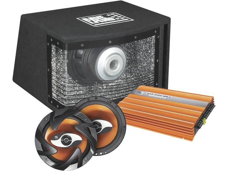 Raveland XAB-5000 MKII Orange Power Actieve subwoofer set