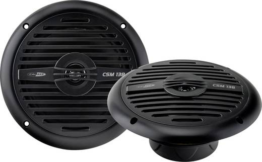 Caliber Audio Technology CSM13B noir 2-weg coaxiale inbouwluidspreker 120 W 1 paar