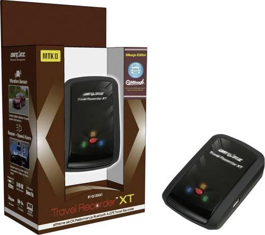 Qstarz BT-Q1000XTM GPS logger Zwart