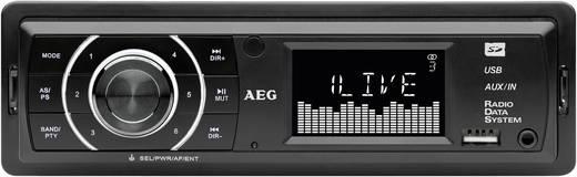AEG AR4027 Autoradio enkel DIN 4 x 40 W Jackplug, USB
